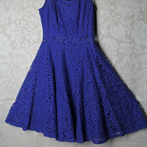American Rag Junior Girls Midnight Blue Lace dress